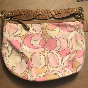 Coach Shades of Pink Hobo Bag